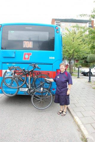 Fietsen op de streekbus
