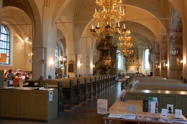 Kerkinterieur Arboga