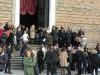 Bruidspaar voor de Santa Giustina