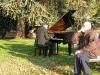 Pianist op de Prato della Valle