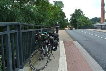 Start Brückenradweg