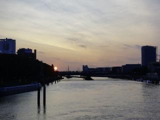 Avond aan de Weser