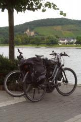 De Rijn, fietsen en het kasteel