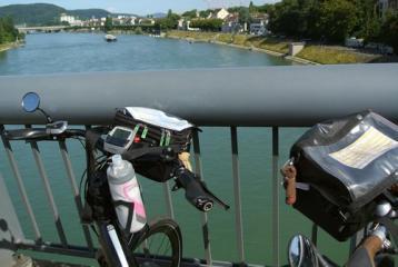 Twee fietssturen en de Rhein