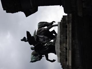 Standbeeld Deutsches Eck
