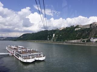Zicht op de Rijn