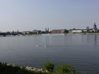 Zicht op Mainz
