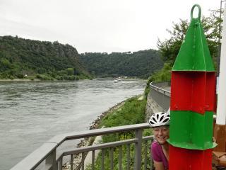 De Rijn wordt hier smal