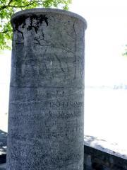 Mijlpaal afstand tot Basel